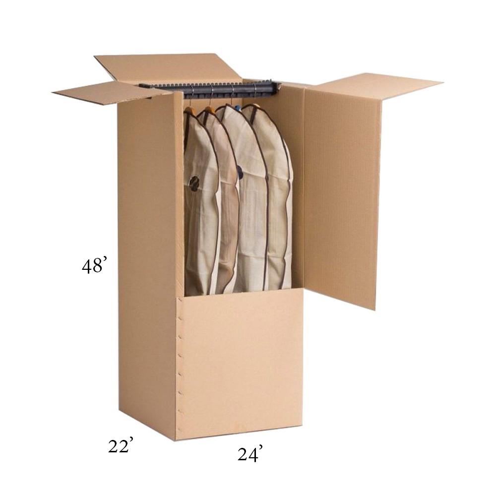 Wardrobe Box Montreal Moving Company
